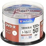 バーベイタムジャパン(Verbatim Japan) 1回録画用 DVD-R CPRM 120分 50枚 シルバーディスク 片面1層 1-16倍速 VHR12J50VS1
