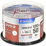 Verbatim VHR12J50VS1 [DVD-R 16倍速 50枚組] 製品画像