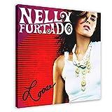 Nelly Furtado's Albumcover – lose Leinwand Poster