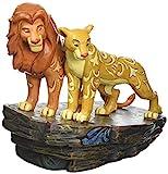 Disney Traditions, Figura de Simba y Nala del El Rey León, para coleccionar, Enesco...