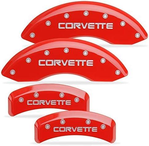 MGP Caliper Covers Max 59% OFF 1988-1996 Brake - C4 Corvette Attention brand