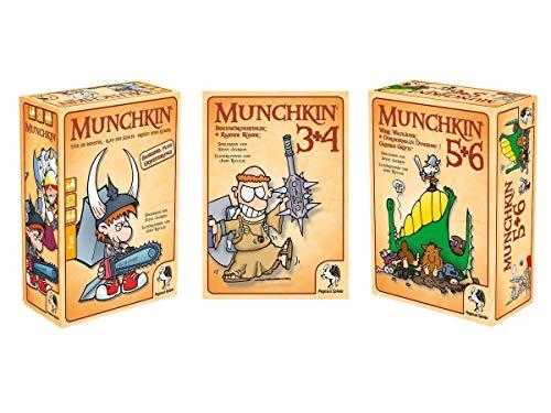 Pegasus Munchkin Kartenspiel Set - Munchkin 1+2+3+4+5+6+6.5 (Deutsch)