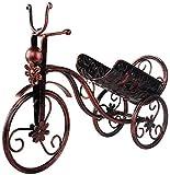 DFGSAA Estante para Copas de Vino Soportes para Botellas de Vino Estantes para Vino montados la Pared Soporte de Vino Tinto Bicicletas de Forma Estante de Almacenamiento de Vino Estante Decoración