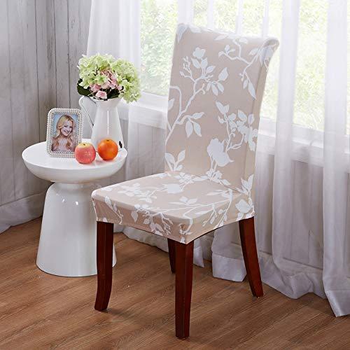 Tayinio stoelhoes van stretchstof met afdekking van elastische stof, voor bureaustoel, banketstoel, eetkamer, hotel
