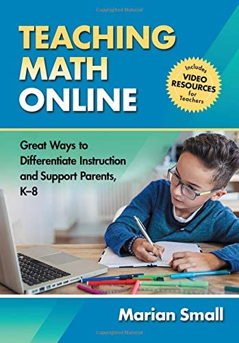 Teaching Math Online Great Ways to Differentiate Instruction and Support Parents K 8 product image