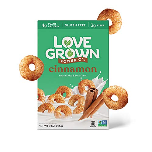 Love Grown Cinnamon Power O's 9oz. Box, 6-Pack