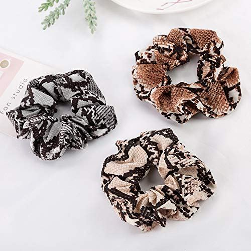 6-Pack-Leopard-Print-Hair-Scrunchies-Animal-Print-Slap-Bracelet-Ponytail-Holder-Elastic-Hair-Bands-Wrist-Line-Fabric-Scrunchy-Hair-Ties-for-ShowSleepover-Party