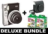 Fujifilm Instax Mini 90Neo–Schwarz + 40Shots + Vintage Schwarz Fall
