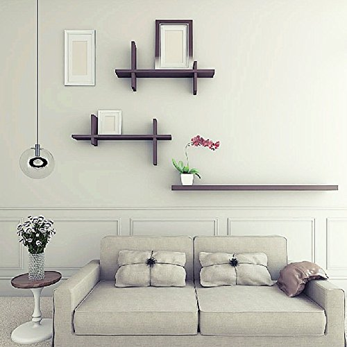 WLH- Creative Wall Opknoping Word Partition Planken TV achtergrond decoratieve Frame Planken muurbeugels