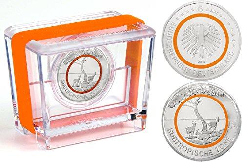 5 Euro Gedenkmünze Deuschland 2018 PP - Subtropische Zone