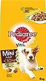 Pedigree Cani mangime crocchette Adult Mini per Adulti, 1er Pack (1X 6kg)