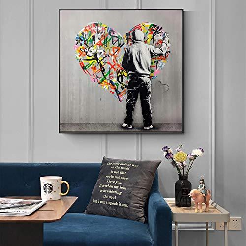 Artiste de Rue Peinture sur Toile Affiches et Impressions...