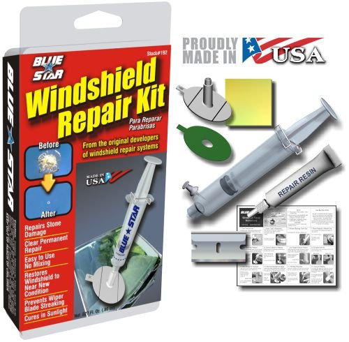 Blue-Star Windshield Repair Kit, .027 fl oz