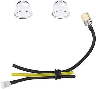 Yingshop Fuel Gas Tank Grommet kit with Fuel Line Filter Primer Bulb for Echo Blower String Trimmer PAS225 PE201 PE310 PB200 PPF210 HC150 HC151 HCA266 SHC210 SHC211 SHC212 SRM211 SRM225 SRM230 SRM231