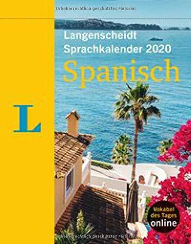 Langenscheidt Sprachkalender 2020 Spanisch - Abreißkalender