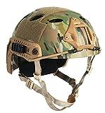 DLP Tactical Impax Extreme Bump Helmet with Accessory Mounts (Camo)