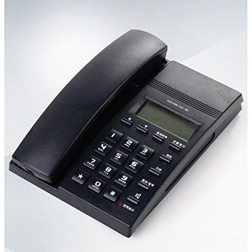Téléphone Liuyu · Maison de Vie Hôtel Bureau Identification de l'appelant Fixe Mains-Libres Fixe (Color : Black)