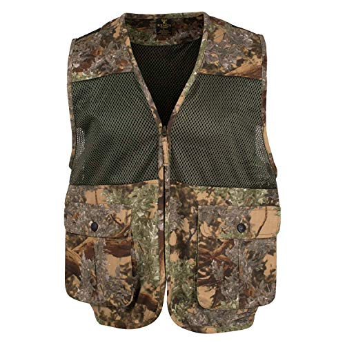 King's Camo King's Upland Vest, Color: Desert Shadow, Size: M/L (KCG9101-DS-M/L)