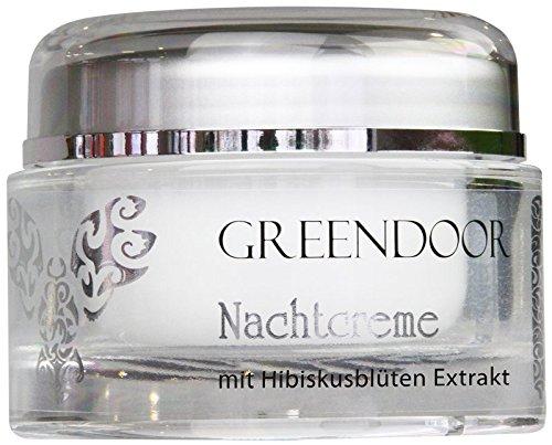 COSMÉTIQUE 100% NATUREL - Greendoor - Crème de nuit au beurre d'avocat - pot de 50 ml