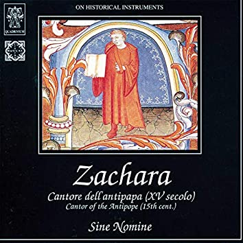 Zachara: Cantore dell'antipapa (XV secolo) (On Historical Instruments)