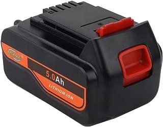 SANKE - Batería de iones de litio de repuesto para Black & Decker BL2018 LBXR20 LBXR2020-OPE LB20 LBX20 BL2018-XJ GKC1825L GTC1850L20 STC1820 (20 V, 5,0 Ah)