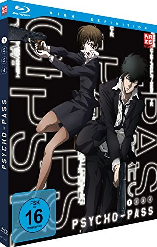 Psycho-Pass - Staffel 1 - Vol.1 - [Blu-ray]