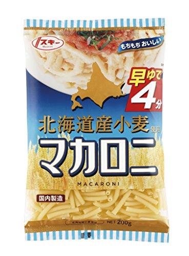 奥本製粉 スキー早ゆで北海道産 小麦使用マカロニ 200g×20袋