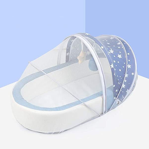 XY Crib Baby Bed Foldable Bassinet For Bed Bionic Travel Bed Womb Like Protector Baby Snuggle Nest Bed Baby Sleeping Pods For 0 36 Months Color 5