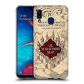 Head Case Designs Officially Licensed Harry Potter The Marauder s Map Prisoner of Azkaban II Soft Gel Case Compatible with Samsung Galaxy A20 / A30 2019