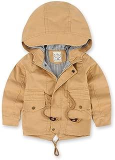ALLAIBB Boys Jacket Warm Windbreak Thin Or Thick Classic Outwear Spring Fall Winter