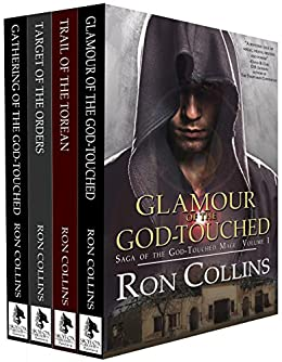 Saga of the God-Touched Mage (Vol 1-4) by [Ron Collins]
