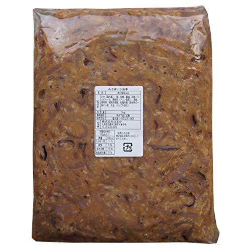 みそ味いか塩辛 1kg袋入 国産するめ 味噌の効果で 生臭みの無い逸品