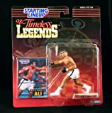 MUHAMMAD ALI / BOXING 1998 Timeless Legends Kenner Starting Lineup & Exclusive Collector Trading Card