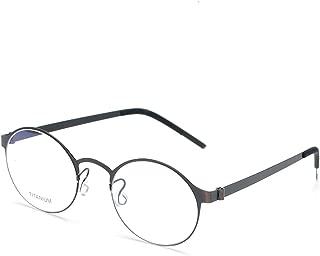Titanium Eyeglasses for men Screwless Prescription Glasses for women