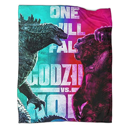Manta infantil Godzilla Vs King Kong (80 x 100 cm)