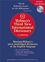 Webster's Third New International Dictionary, Unabridged (Book & CD-ROM)