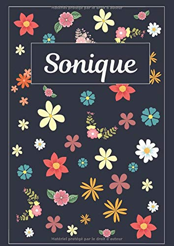 Sonique: Journal | Agenda | Carnet de Notes | 120 pages | A4 | Blanc | Idée Cadeau