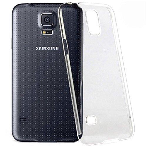 itronik Hülle kompatibel mit Samsung Galaxy S5 i9600 Ultra Slim Crystal Hülle Schutzhülle Hülle Hart Hülle Cover Tasche