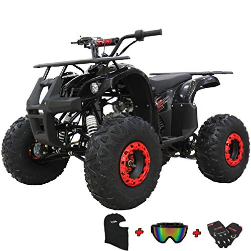 X-PRO ATV for Sale 125cc ATV Quad Youth 4 wheeler ATVs Adults ATV Four Wheelers (Black)