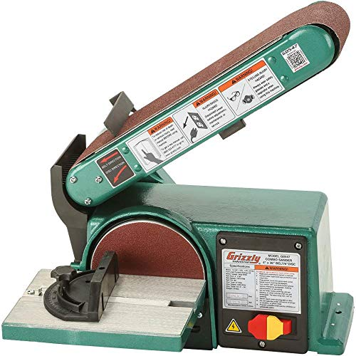 Grizzly Industrial G0547-4' x 36' Belt/6' Disc Combo Sander