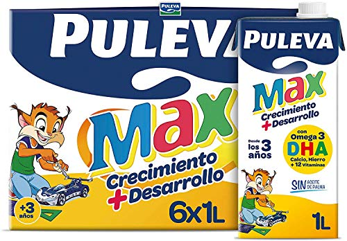 PULEVA MAX CRECIMIENTO + DESARROLLO BRIK 1 L (6 BRIKS)