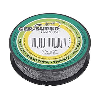 Fannty Super Strong 100m Good Fishing Line braid line Compatible for Fish Rods 0.28MM 30LB