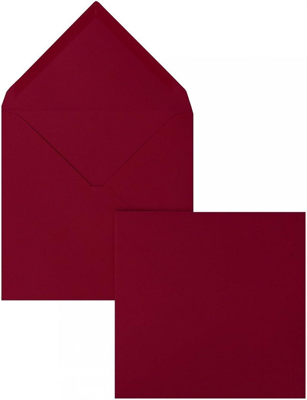 Farbige Briefhüllen   Premium   165 x 165 mm Rosa (100 Stück) Nassklebung   Briefhüllen, KuGrüns, CouGrüns, Umschläge mit 2 Jahren Zufriedenheitsgarantie B00FPO1TKG | Ausgezeichnet (in) Qualität