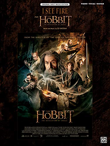 I See Fire (from »The Hobbit: The Desolation of Smaug«) | Piano/Vocal/Guitar | Sheet