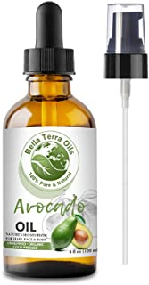 NEW Avocado Oil. 4oz. Cold-pressed. Unrefined. Organic. 100% Pure. Rich in Antioxidants. Hexane-free. Fights Wrinkles and ...