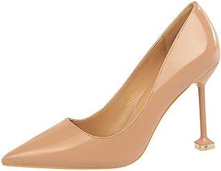 BalaMasa Womens APL12205 Leather Heeled Sandals
