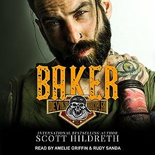 Baker audiobook cover art