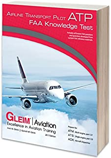 Gleim Airline Transport Pilot ATP FAA Knowledge Test Prep 2018 Edition