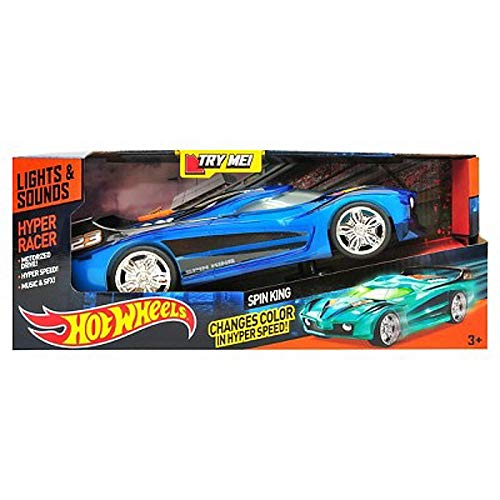 Hot Wheels Spin King Hyper Racer Vehicle by Hot Wheels