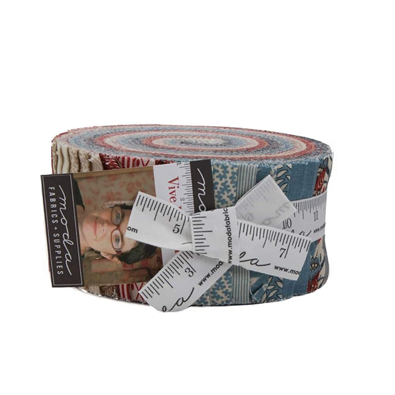 Vive La France by French General Jelly Roll for Moda Fabrics, Assorted